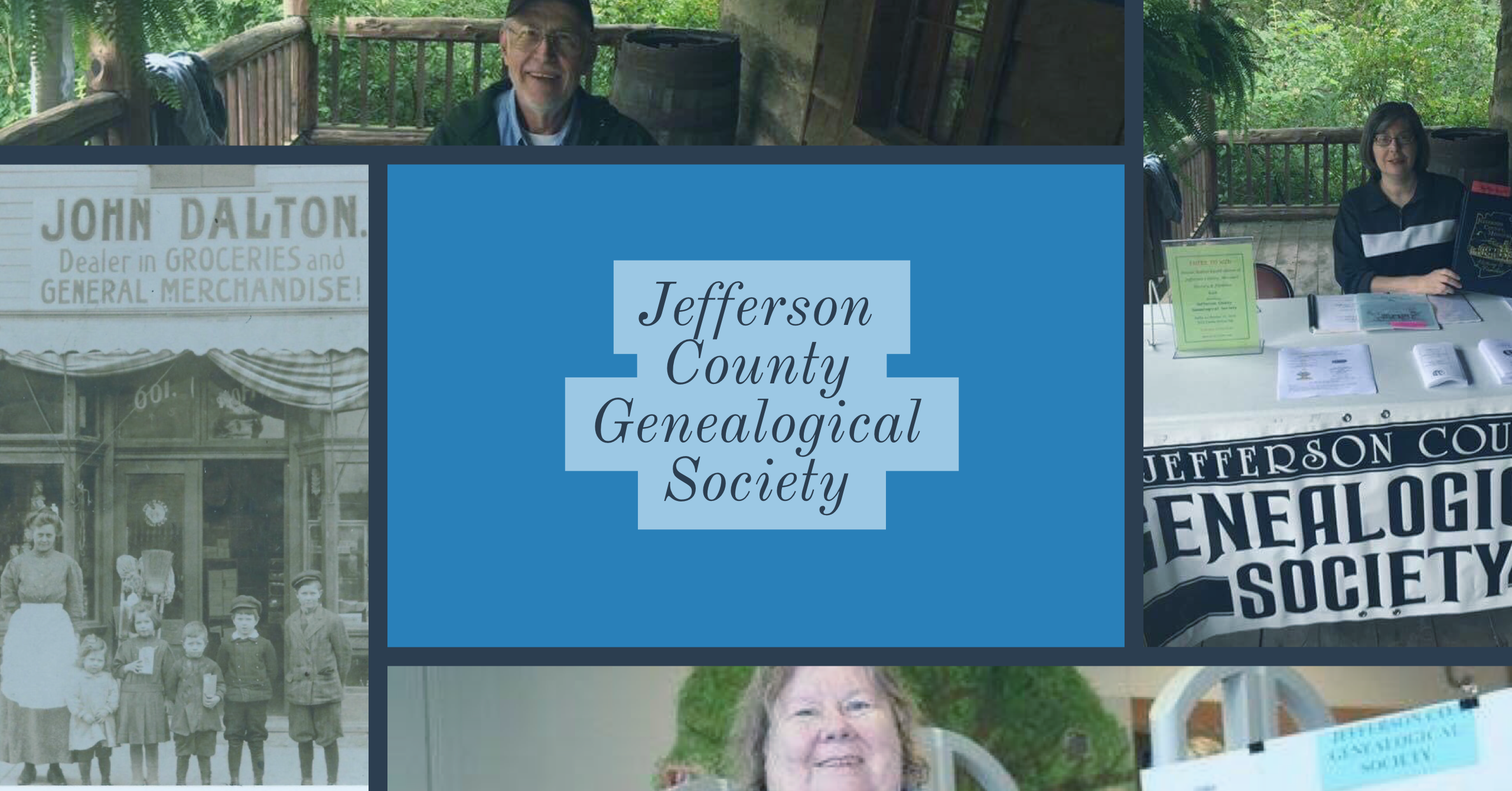 Celebrate 20 years of Jefferson County Genealogical Society